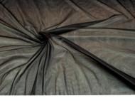 Discount Fabric Stretch Chiffon Black 108 inches wide 301TR