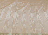 Discount Fabric Moire` Bengaline Faille Light Dusty Peach 201MR