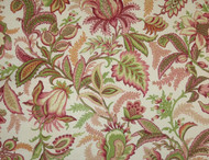 Discount Fabric Richloom Upholstery Drapery Wicklojs Passion Pink Floral 109RL