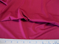 Discount Fabric Polyester Lycra /Spandex 4 way Super Stretch Cranberry 988LY