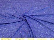 Discount Fabric Brushed Spandex 4 way stretch Heather Periwinkle 602LY