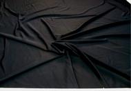 Discount Fabric Nylon Lycra Spandex 4 way stretch Solid Black 03NLY