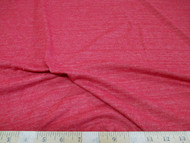 Discount Fabric 4 way Stretch Cotton Blend Red Speckled 100SC