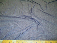 Discount Fabric 4 way Stretch Cotton Blend Heather Dark Gray Grey 104SC