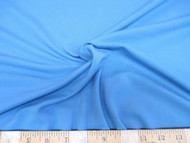 Discount Fabric 4 way Stretch Cotton Blend Sky Blue 106SC