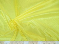 Discount Fabric Ripstop Rip Stop Nylon Water Resistant Yellow 39RS
