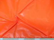 Discount Fabric Ripstop Rip Stop Nylon Water Resistant Neon Orange 42RS
