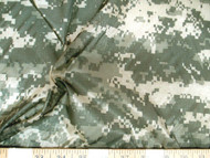 Discount Fabric Ripstop Rip Stop Nylon Water Resistant Army Digital Camo 43RS