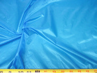 Discount Fabric Ripstop Rip Stop Nylon Water Resistant Caribbean Blue 16RS