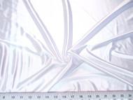 Discount Fabric Nylon Lycra Spandex Stretch White Satin Finish 16NL