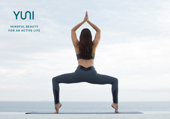 YUNI Beauty- Yoga Pose