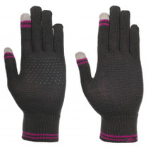 TOUCH WOMENS KNITTED GLOVES