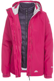 Trailwind Women's 3 in 1 Jacket with Inner Down Jacket