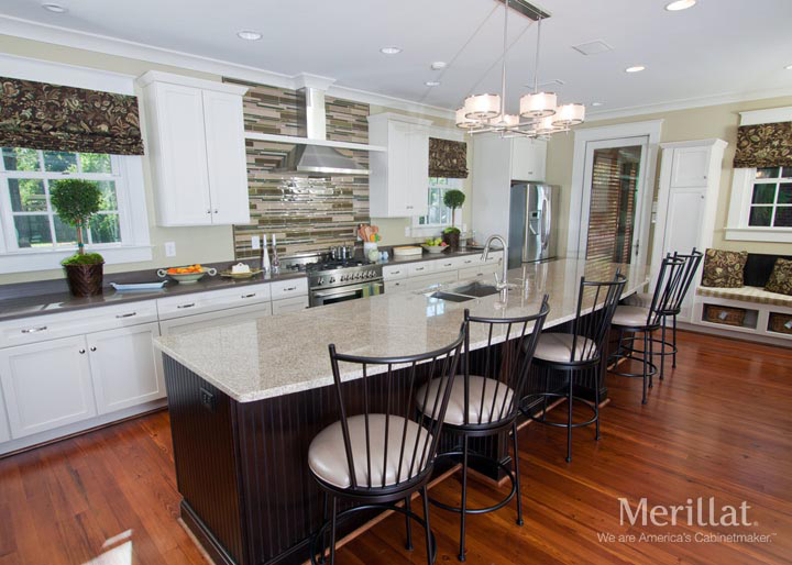 Like Most Elements, Adding Light Cabinetry To Your Kitchen Can Give The  Appearance Of Spaciousness, As Well As Provide A Fresh Appeal.