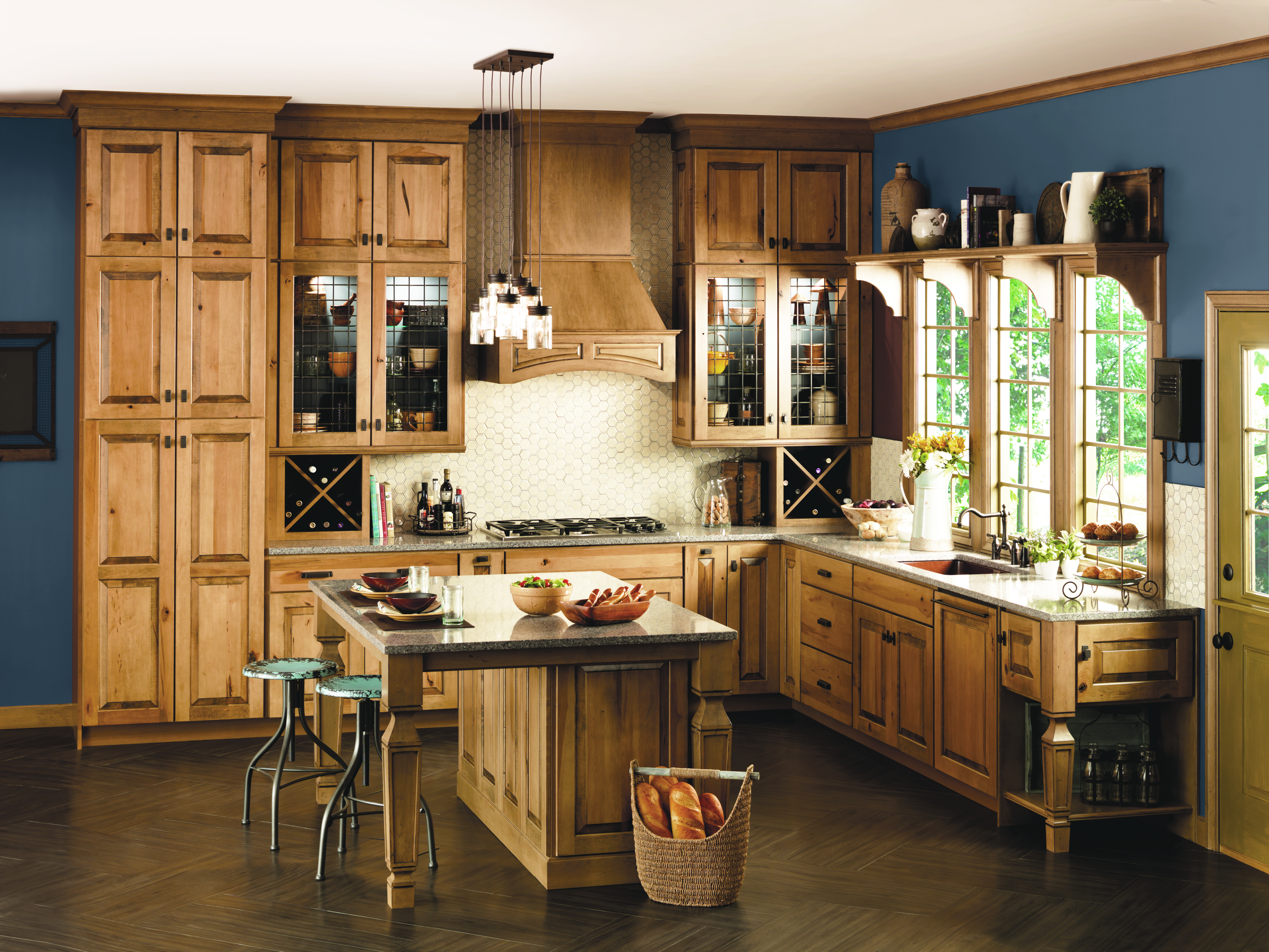 From Exposed Wooden Beams To Antiques, Wicker Baskets, And Heirlooms, Every  Element That Goes Into Designing A Country Kitchen Reflects What Youu0027ll Get  Out ...