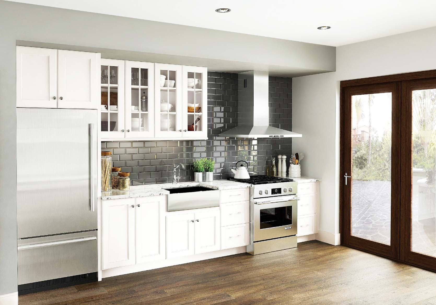 Have An Exterior Door In Your Kitchen? Make Sure Thatu0027s Glass As Well U2013  Sliding Patio Doors Can Maximize The Open Feeling And For Rooms With  Limited Floor ...