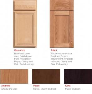 New Oak Cabinet Doors and Colors