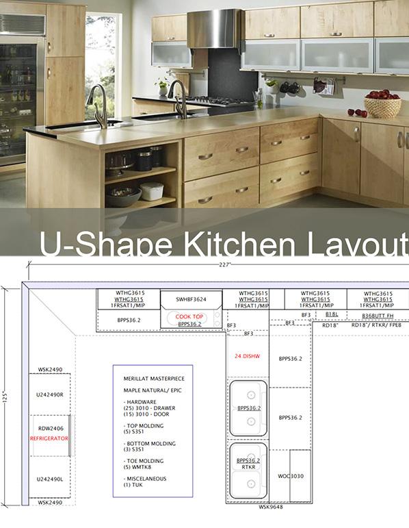Kitchen Floor Material Merillat Merillat