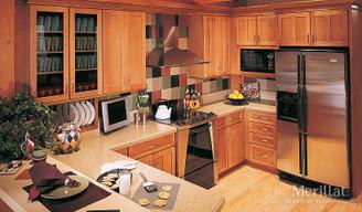 Merillat Masterpiece® Landis in Maple Ginger with Sable Glaze