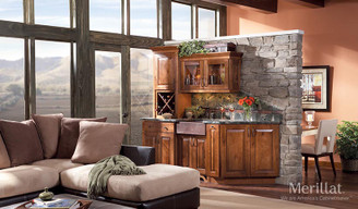Merillat Masterpiece® Cimmaron in Rustic Birch Cinnamon