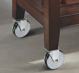 Aluminum Casters, Set of Four