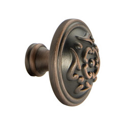 Merillat Classic® Venetian Bronze Copper French Lace Knob