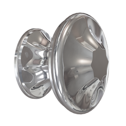 Merillat Masterpiece® Polished Nickel Empire Knob