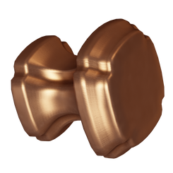 Merillat Masterpiece® Brushed Bronze Empire Square Knob