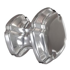 Merillat Masterpiece® Polished Nickel Empire Square Knob
