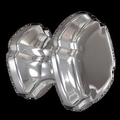 Merillat Masterpiece® Polished Nickel Empire Square Knob