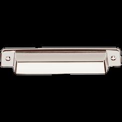 """Merillat Masterpiece® Fordham Bin Pull - Polished Nickel 7/8"""" x 6"""""""