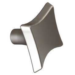 Merillat Masterpiece® Satin Nickel Sail Knob