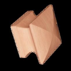 Merillat Masterpiece® Cherry Square Wood Knob