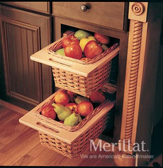 Merillat Masterpiece® Base Open Basket Cabinet