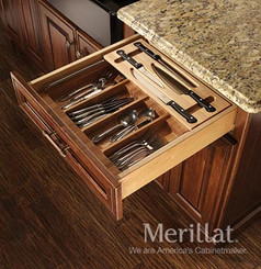 Merillat Masterpiece® Base Tiered Cutlery Storage Knife Ensemble