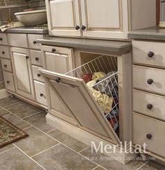 Merillat Classic® Base Vanity Hamper