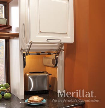 Merillat Classic 174 Wall Appliance Garage Merillat