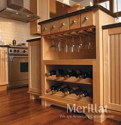 Merillat Classic® Wall Wood Stemware Rack