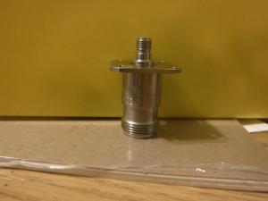 API/Inmet 5309 Adapter N (f) to SMA (f) 4-Hole Flange