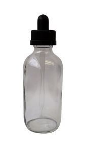 120ML Glass Bottle with Dropper