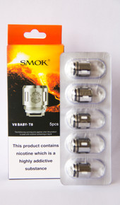 Smok - V8 Baby-T8 Octuple Core (5 pack) Baby Beast Replacement Coils