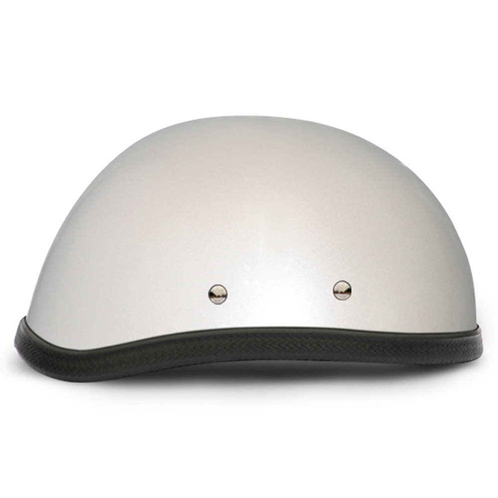 Pearl White Novelty Motorcycle Helmet | Novelty Helmet - Daytona XS S M L XL 2XL