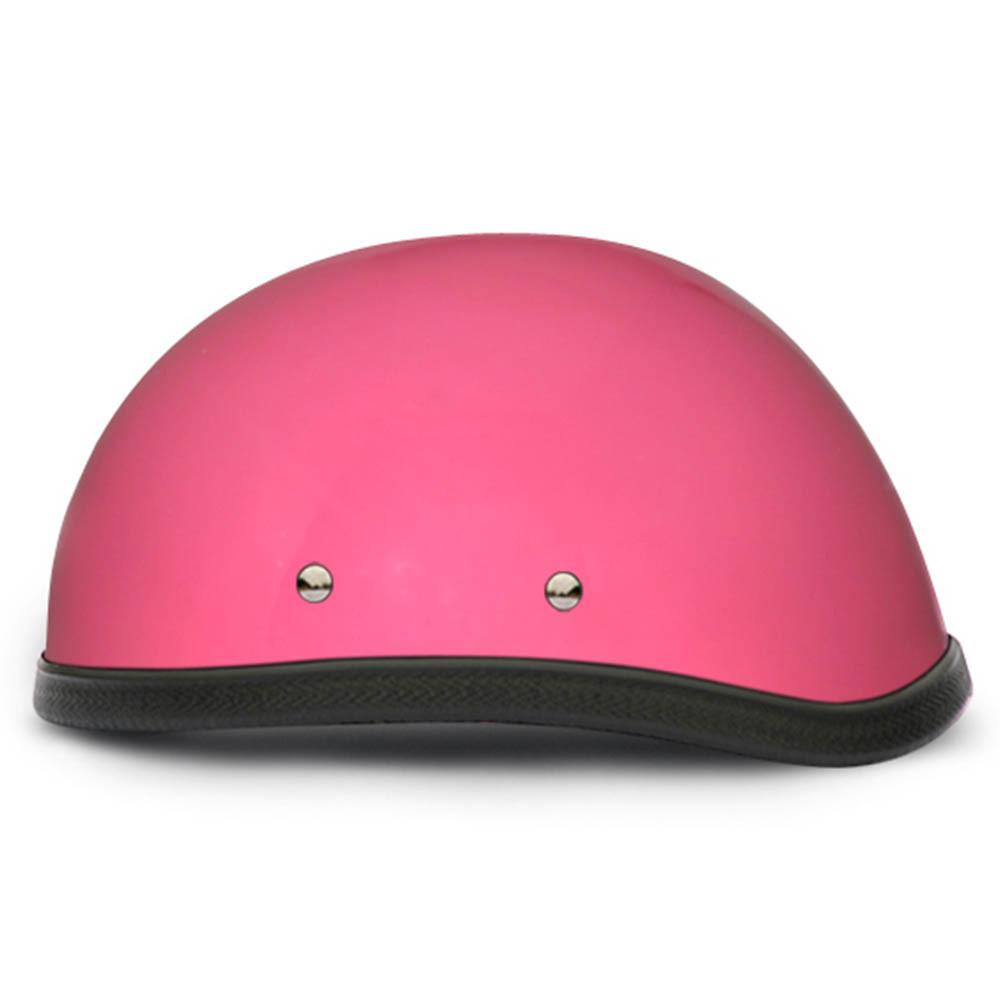 Ladies | Womens Pink Novelty Motorcycle Helmet by Daytona - Size XS-2XL