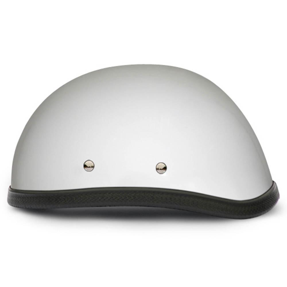 White Novelty Motorcycle Helmet   Eagle Novelty Helmet - Daytona XS S M L XL 2XL