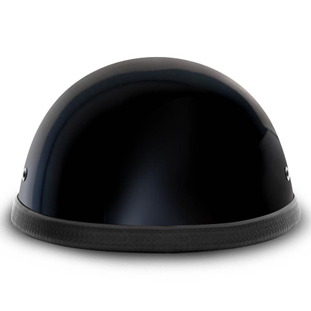 Black Classic EZ Rider Novelty Motorcycle Helmet | by Daytona XS S M L XL 2XL