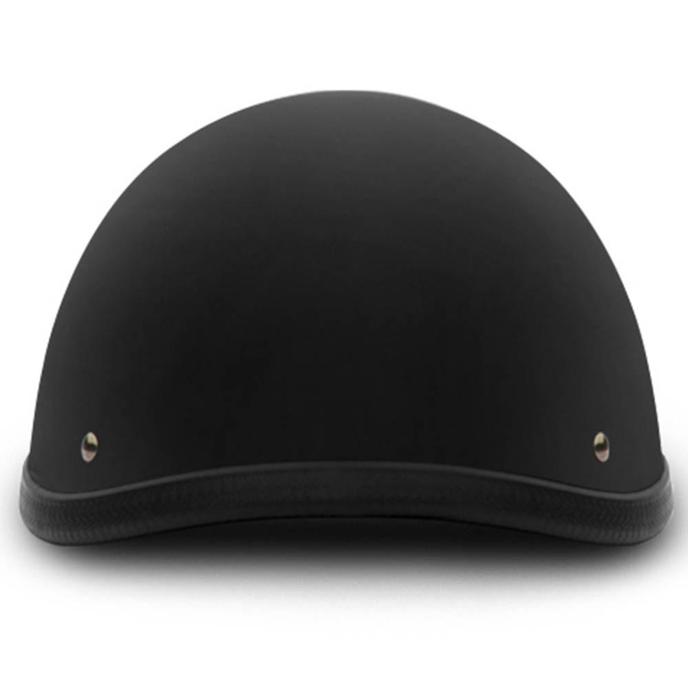 Flat Black Smokey Style Novelty Motorcycle Helmet by Daytona Helmets XS-2XL