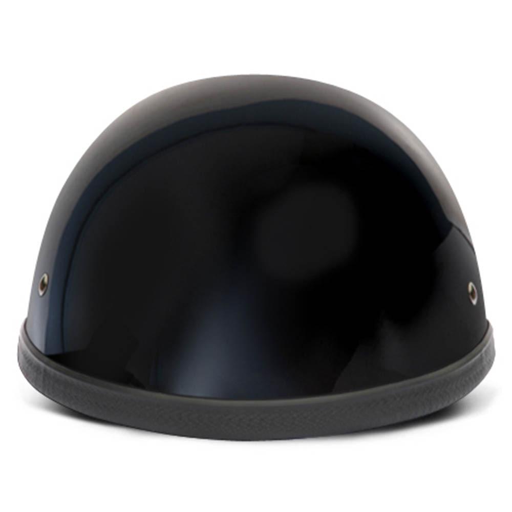 NOVELTY HELMETS - NOVELTY MOTORCYCLE HELMET - GLOSS BLACK EAGLE - DAYTONA XS-4XL