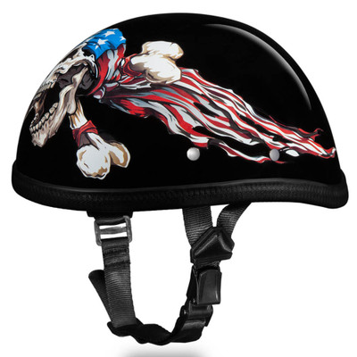 Novelty Helmet - Patriot by Daytona - 6002P