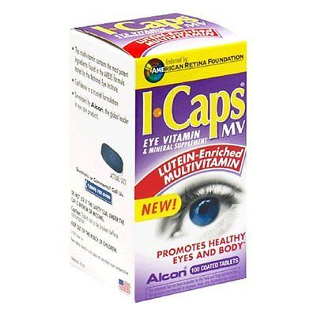 ICAPS Lutein Tablet 100ct