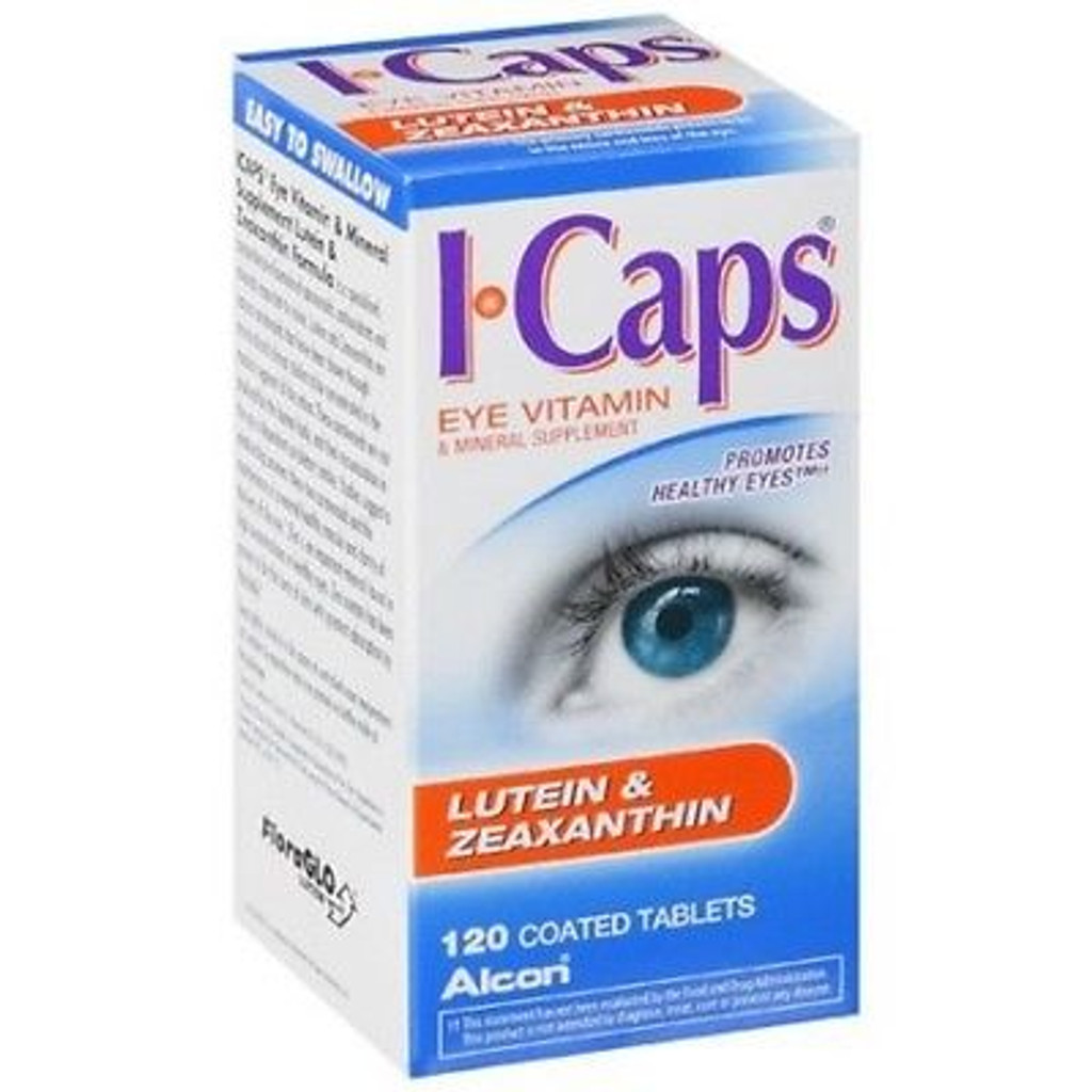 ICAPS Lutein Tablet 120ct